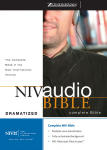 NIV Dramatized Complete Audio Bible